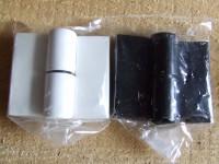 XLD-25-7 PP fehér,fekete ajtópánt, wc falhoz